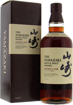 Sherry Cask 2013 Jim Murray's Best Whisky Of the World 2015 48%Yamazaki -