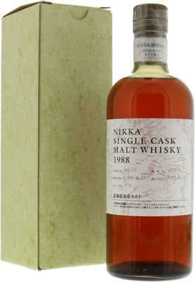 Yoichi - 23 Years Old Single Cask Warehouse 15 Cask 100129 61% 1988