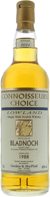 1988 Connoisseurs Choice 40%Bladnoch -