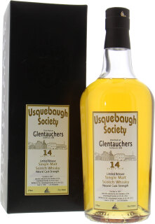 14 Years Old Usquebaugh Society Cask 3798 57%