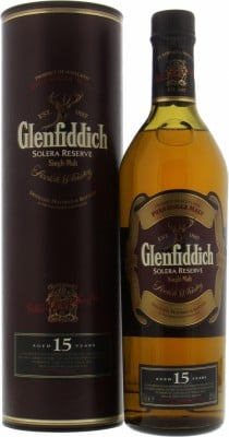 Glenfiddich - Solera Reserve 15 Years Old 40% NV