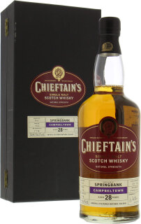 28 Years Old Chieftain's Cask 1162 56.5%