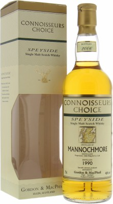 Mannochmore - 1990 Connoisseurs Choice Map Label 46% 1990