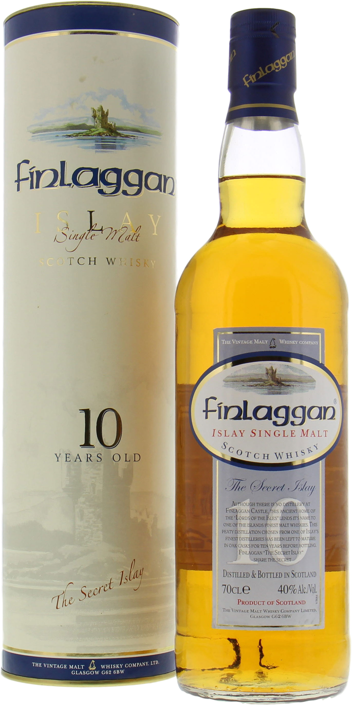 Finlaggan - 10 Years Old 40% NV