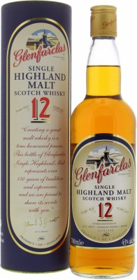 Glenfarclas - 12 Years Old Distillery Label, Big Red 12 40% NV