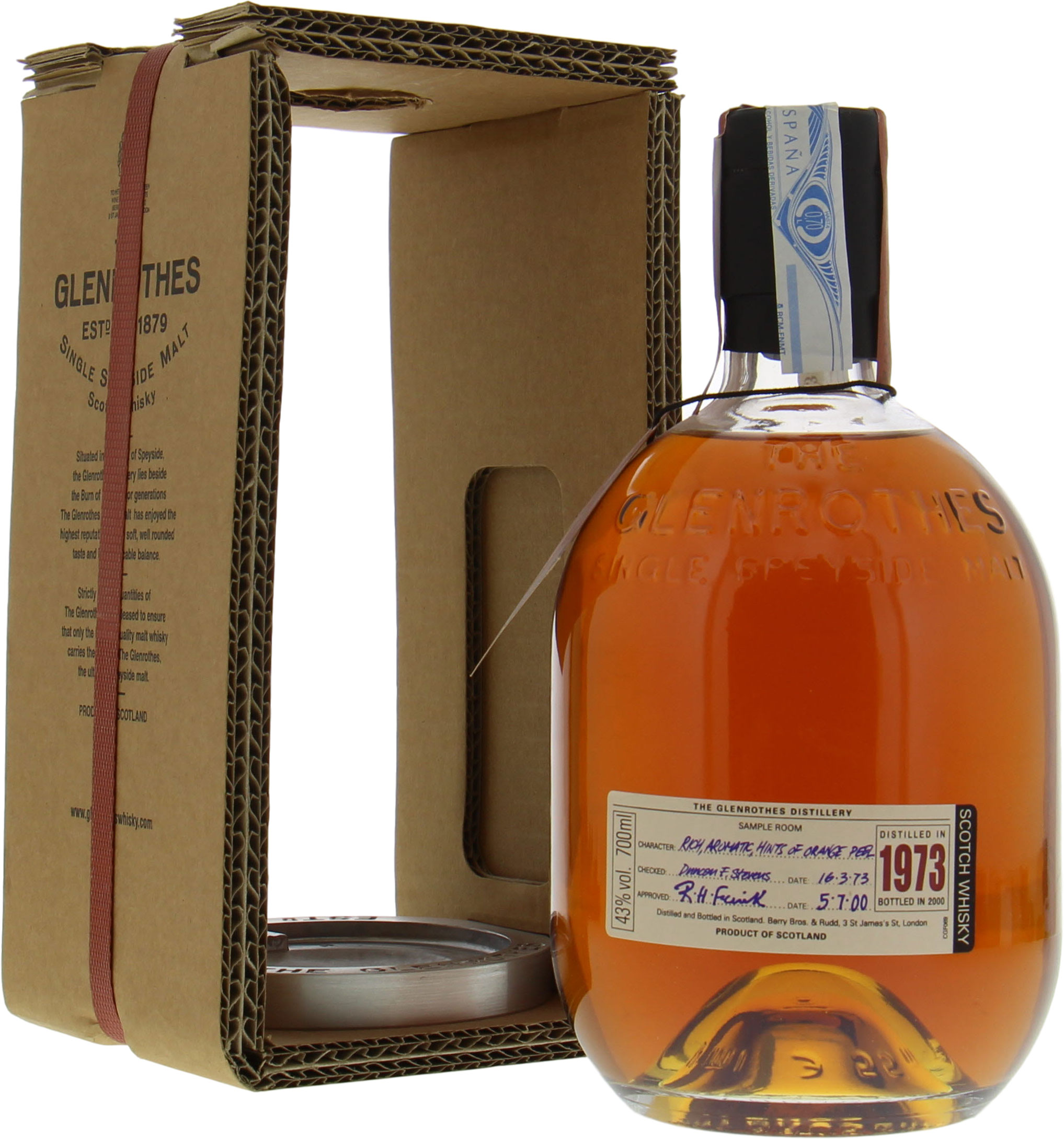 Glenrothes - 1973 Restricted Release 43% 1973