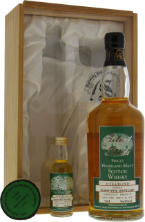 21 Years Old  Signatory Vintage Silent Stills Cask 12886 54.8%