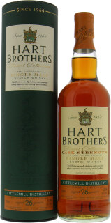 26 Years Old Hart Brothers Sherry Butt Cask Strength 52.5%