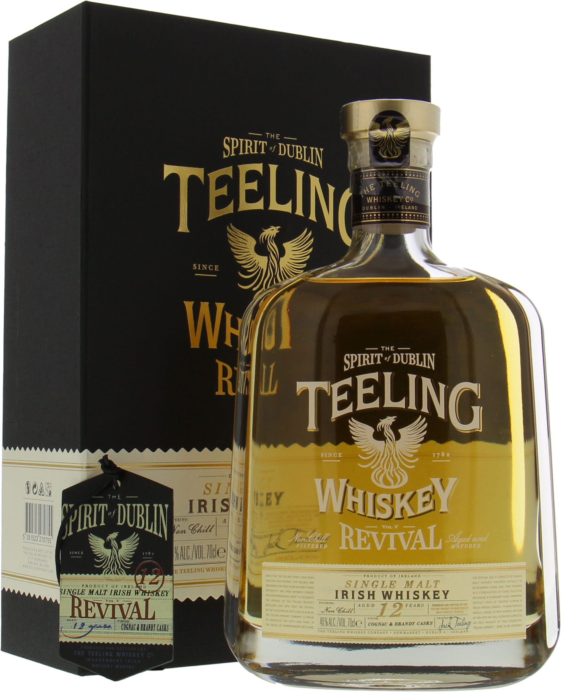 Teeling - 12 Years Old The Revival Vol. V 46%  NV