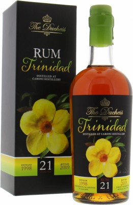 21 Years Old Trinidad The Duchess Cask 20 64,1%Caroni -