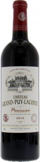 Chateau Grand Puy Lacoste - Chateau Grand Puy Lacoste 2016