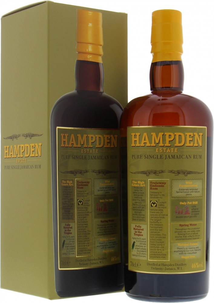 Hampden - Hampden Pure Single Jamaican Rum 46% NV