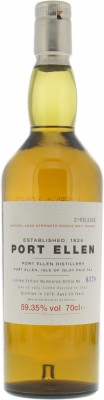 Port Ellen - 2nd Release 24 Years Old 59.35% 1978
