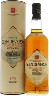 1978 Glen Deveron 12 Years Old 40%