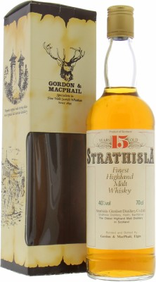 Strathisla - 15 Years Old Gordon & MacPhail Finest Highland Malt Whisky 40% NV