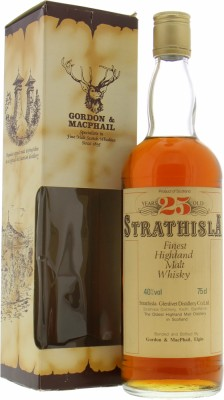Strathisla - 25 Years Old Gordon & MacPhail Finest Highland Malt Whisky 40% NV
