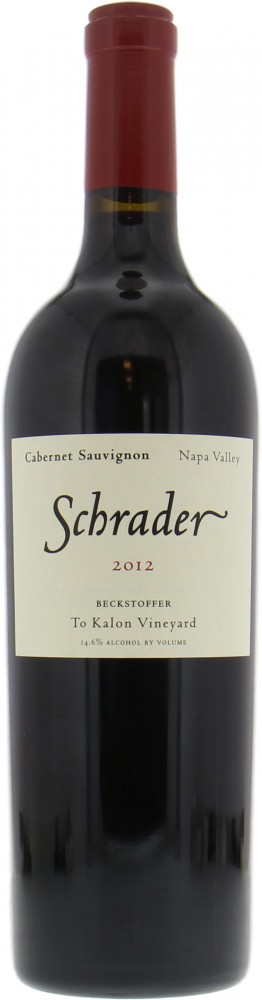 Schrader Cellars - Cabernet Sauvignon Beckstoffer to Kalon Vineyard 2012