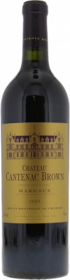 Chateau Cantenac Brown - Chateau Cantenac Brown 2003