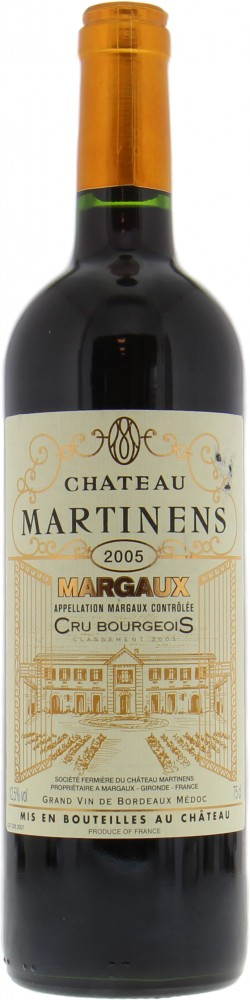 Chateau Martinens - Chateau Martinens 2005