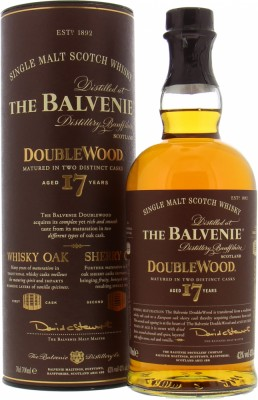 17 Years Old DoubleWood 43%Balvenie -