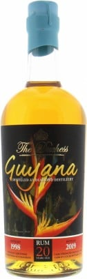 Diamond - The Duchess 20 Years Old Guyana Armagnac Finish Cask 27 50.8% 1998