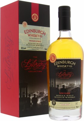 Glen Grant - 20 Years Old Edinburgh Whisky The Library Collection 46% NV