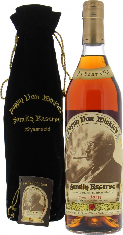 Pappy Van Winkle - 23 Year Old Family Reserve H2097 47.8% NV