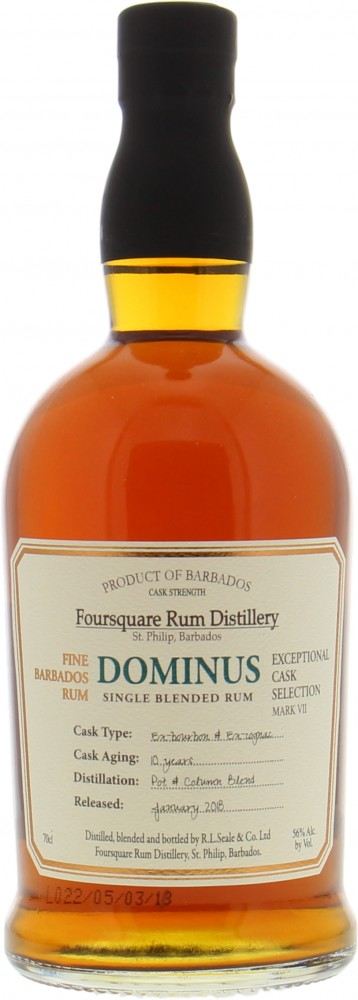 Foursquare - Dominus 10 Years Old Mark VII 56% NV