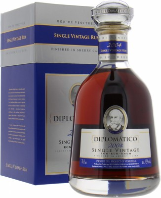 Single Vintage Rum Sherry Cask Finish 2004 43%Diplomatico -