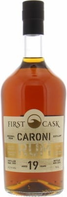 19 Years Old Cask 190 First Cask 61.2%Caroni -