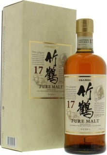 Nikka 17 Years old Taketsuru pure malt 2010 Version 43%