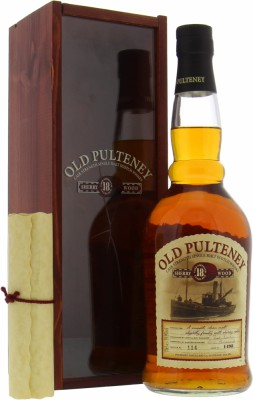 18 Years Old Cask 1498 59.9%Old Pulteney -