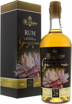 Enmore - The Duchess 28 Years Old Guyana Versailles Pot still Cask 49 54.9% 1990