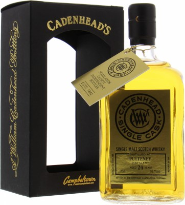 Old Pulteney - 24 Years Old Cadenhead Single Cask 53.7% NV