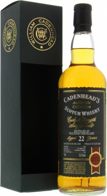 Old Pulteney - 22 Years Old Cadenhead Authentic Collection 55.2% 1990