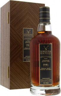 1981 Private Collection Cask 476 55.9%