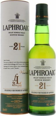 21 Years Old  Friends of Laphroaig Ballot 48.4%Laphroaig -