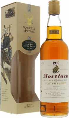 1970 Gordon & MacPhail 30 Years Old 40%Mortlach -
