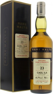 23 Years Old Rare Malts Selection 61.7%