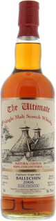 Ballechin 12 Years Old The Ultimate Cask Strength Cask 336 56.7%