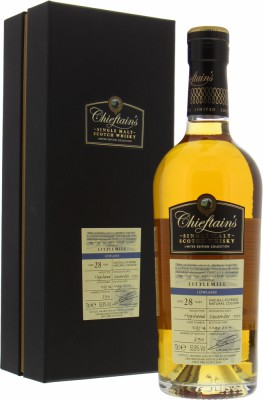 Littlemill - 28 Years Old Chieftain's Cask 103514 53.8% 1990