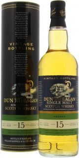 15 Years Old Dun Bheagan Cask 700173 and 700174 58.6%
