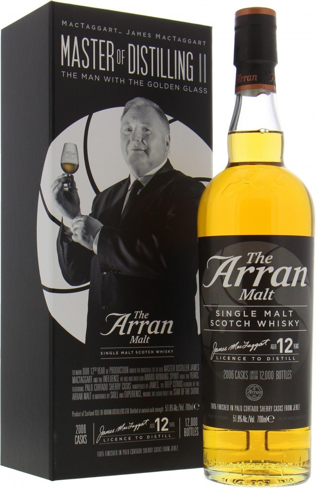 Arran - The Man With The Golden Glass 51.8% 2006