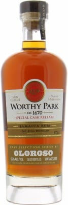 Worthy Park - Single Estate Olorosso Cask Selection 55% 2013