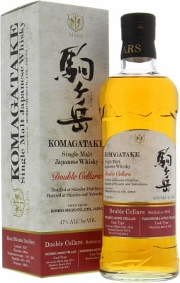 Komagatake Double Cellars 2019 47% Shinshu Mars -