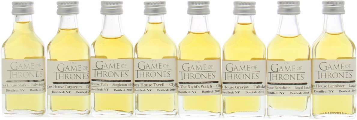 Diageo - Game Of Thrones Full Sample Set NV
