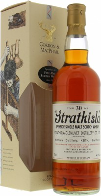 30 Years Old Gordon & MacPhail Licensed Bottling 43%Strathisla -