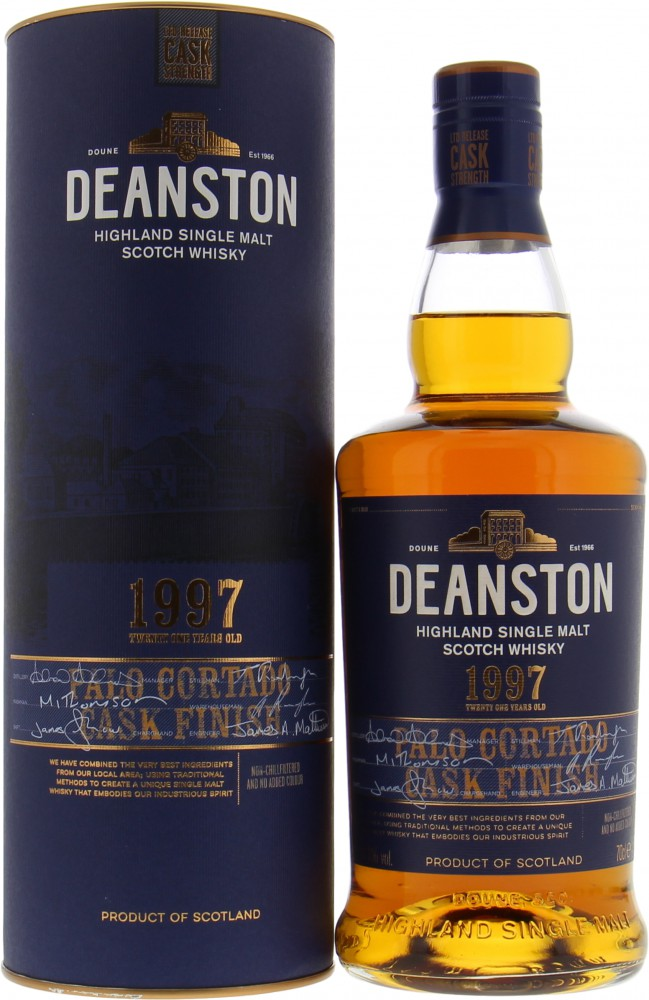 Deanston - 21 Years Old Palo Cortado Finish 51.8%