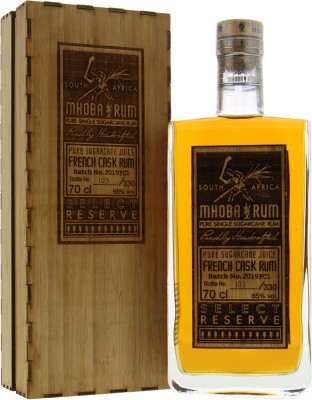 Mhoba Rum - Select Reserve French Cask Rum 65% NV