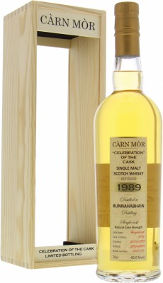 29 Years Old Càrn Mòr Celebration of the Cask 5885 40%Bunnahabhain -